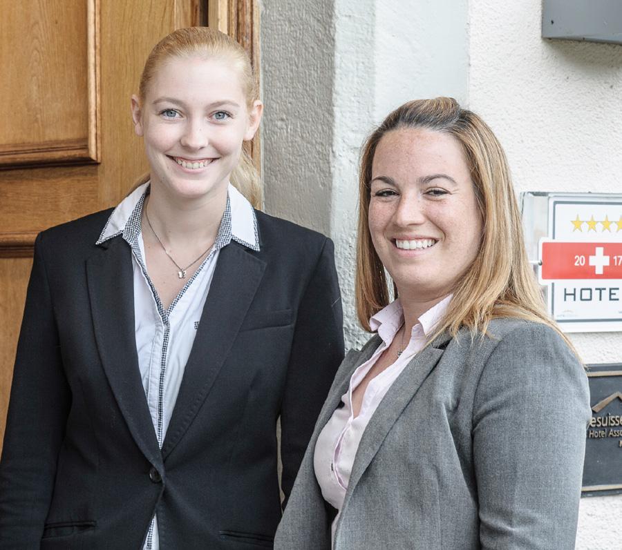 Stephanie Haering und Florence Gigliotti