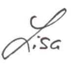 Signatur Lisa