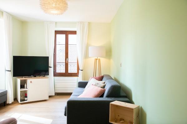 Serviced Apartments Wohnzimmer